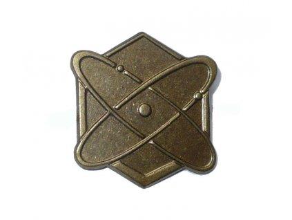 Odznak rozlišovací, PCHBO, originál ČSLA, dlouhodobě skladovaný