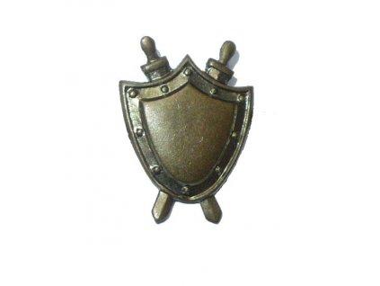 Odznak rozlišovací, Justice, originál ČSLA, dlouhodobě skladovaný