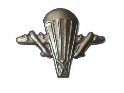 Odznak rozlišovací, Výsadkáři, originál ČSLA, dlouhodobě skladovaný