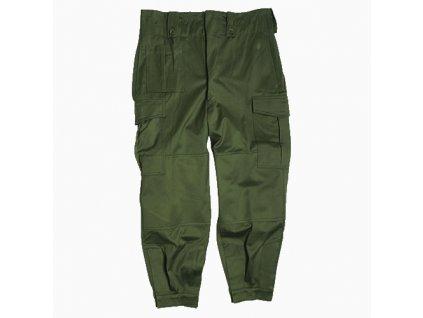 Kalhoty vzor m64 zelené, pracovní, vyšší pas, originál, nepoužité