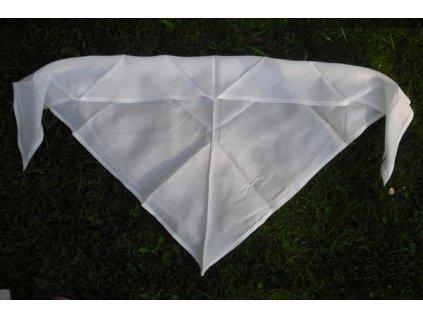 Šátek bílý, originál AČR, nový