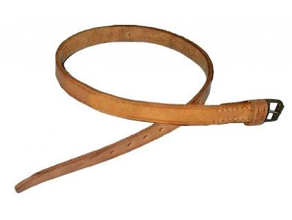 Řemínek ustrojovací kožený, přišitá jedna přezka, originál ČSLA, dlouhodobě skladovaný