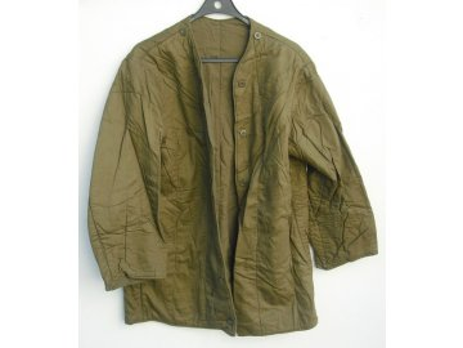 Vložka do kabátu vz. 60 oteplovací, originál ČSLA, dlouhodobě skladovaná