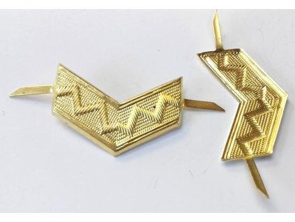 2337 odznak koljnice lom velka zluta