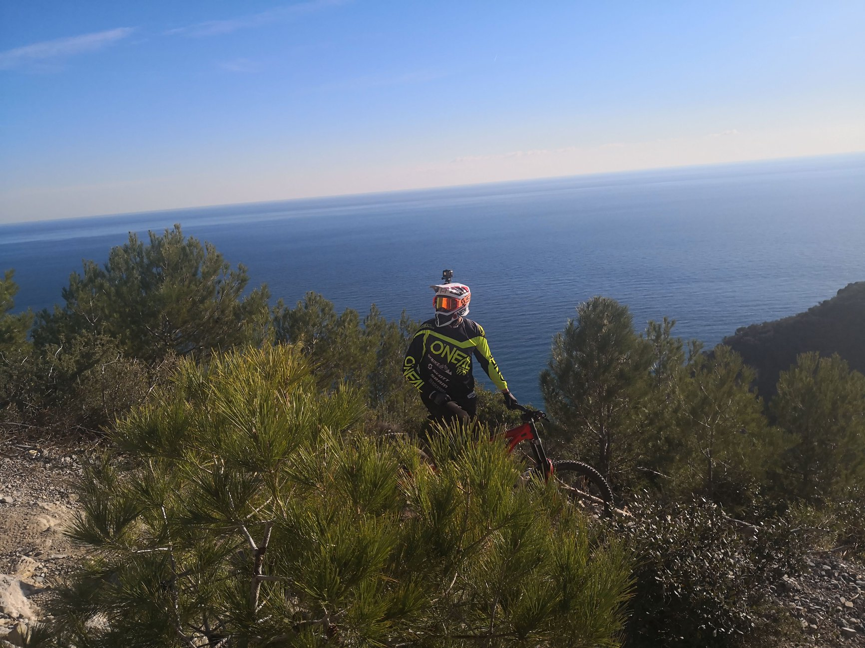 """Trail trip Finale Ligure"" support by OFBIKE"