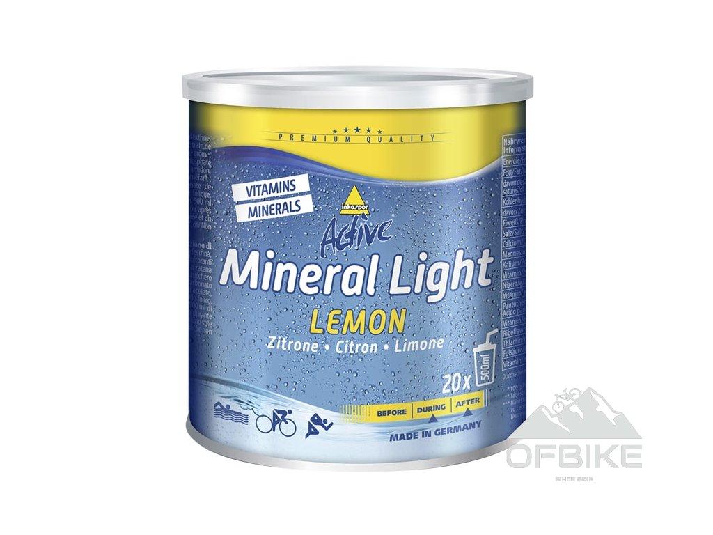Active Mineral Light 330 g (příchuť Pomeranč)