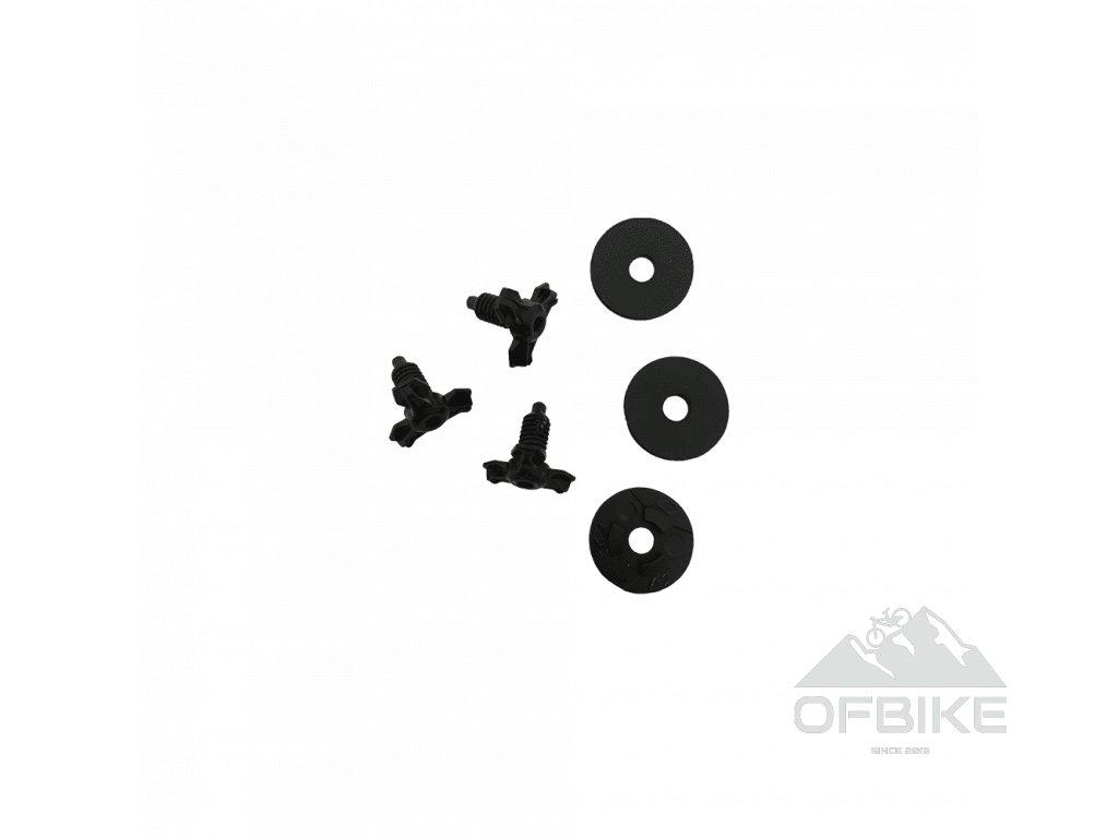 Náhradní šroubky k přilbám O´Neal černá