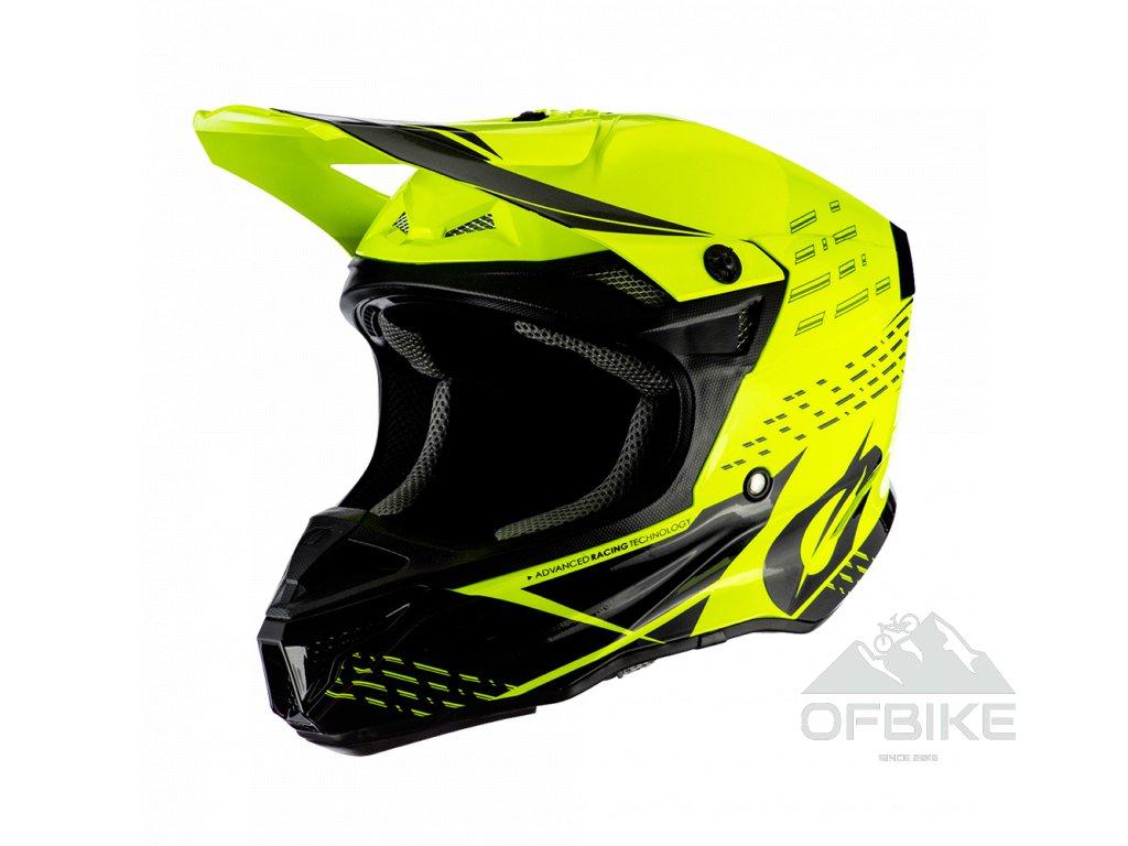 Přilba O´Neal 5Series TRACE ABS černá/žlutá
