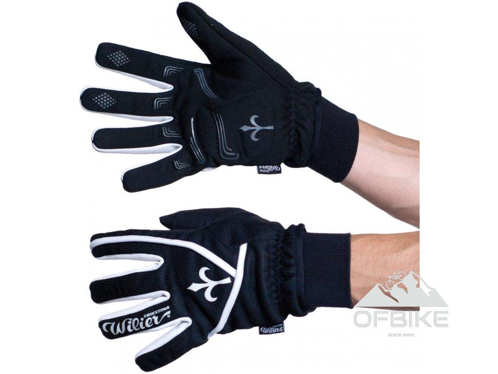 rukavice WILIER ULTRA, černé