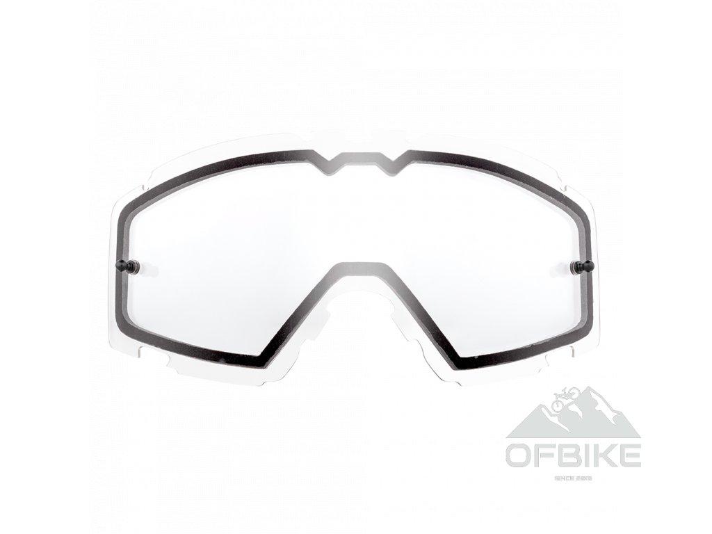 Náhradní dvojité sklo pro O´Neal B-30 čiré vč. pinů