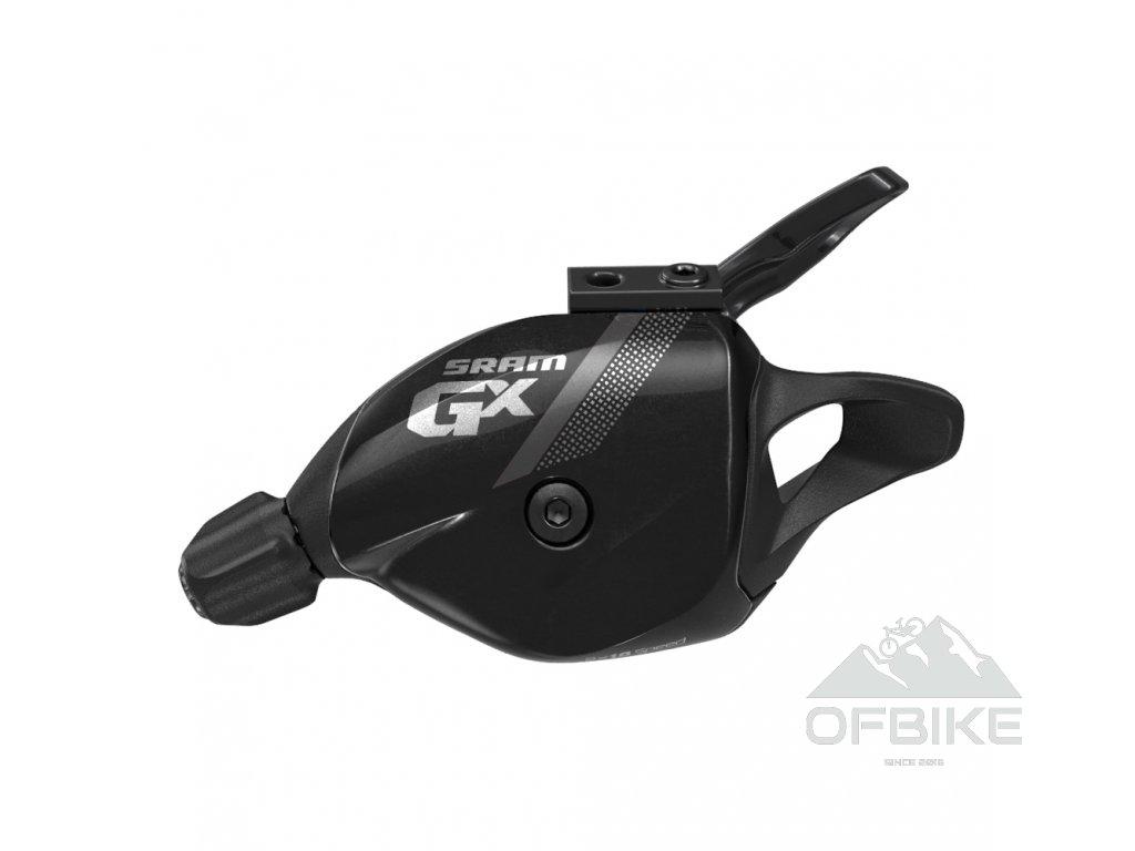Řadící páčka SRAM GX , 10rychl., včetně samostatné objímky černé