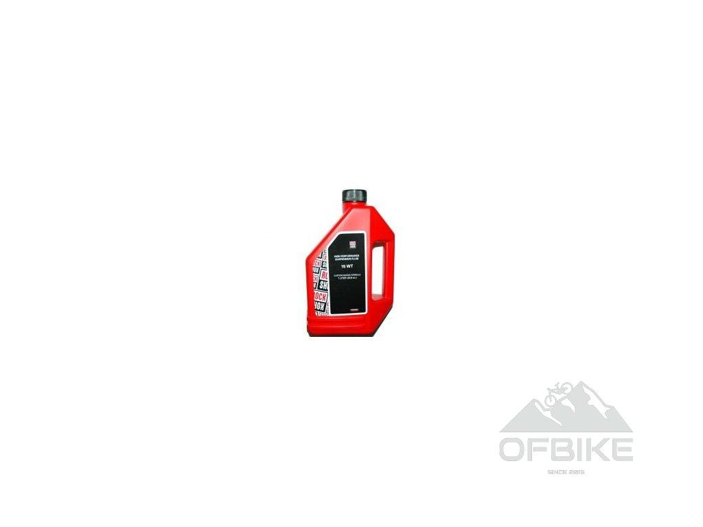 RockShox olej, 15wt, 1 litr láhev - do spodních nohou