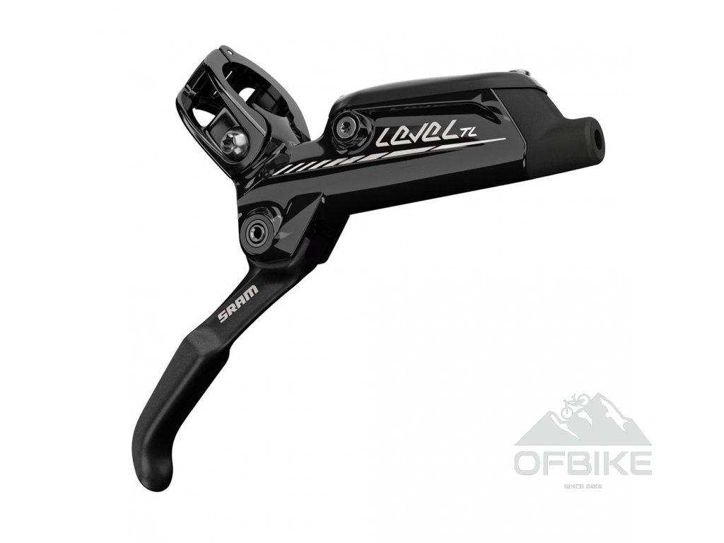Disková brzda SRAM Level TL (Tooled, Light) lesklá černá, zadní, 1800mmhadice, (kotouč a a