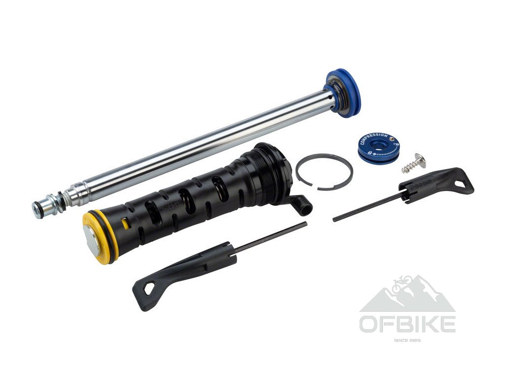Fork DAMPER ASSEMBLY - REMOTE 10mm MOCO RL 80-120mm(2013+ PUSHLOC, ONELOC, TWISTLOC)(THREA