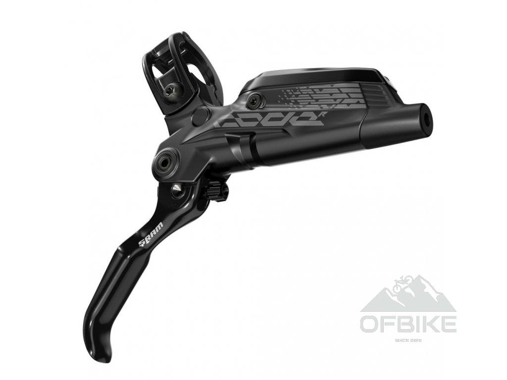 Disková brzda SRAM Code R (Reach) Aluminum Lever Diffusion Black zadní, 1800mm hadice, (ko