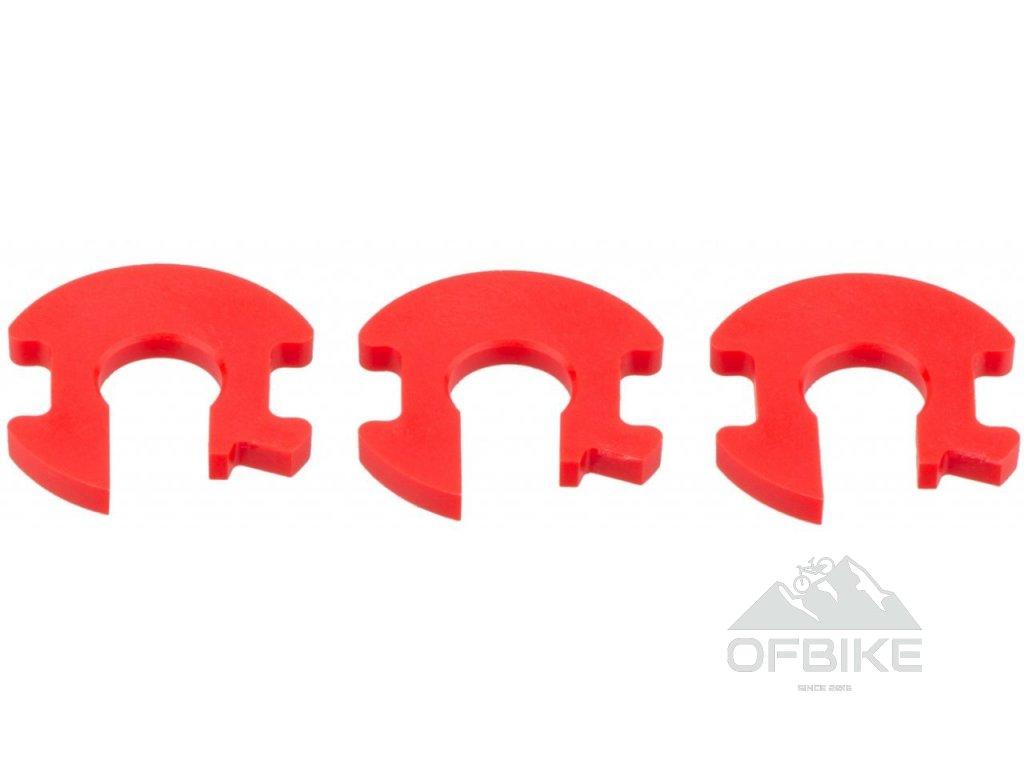 REAR SHOCK VOLUME REDUCER KIT - TOKEN 1T/4.7mm (INCLUDES 3 TOKENS) - SUPER DELUXE/ DELUXE