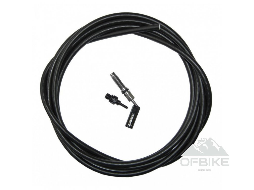 SEATPOST HYDRAULIC HOSE - (2000MM) KIT (INCLUDES NEW HOSE, NEW STRAIN RELIEF, NEW BARB) -