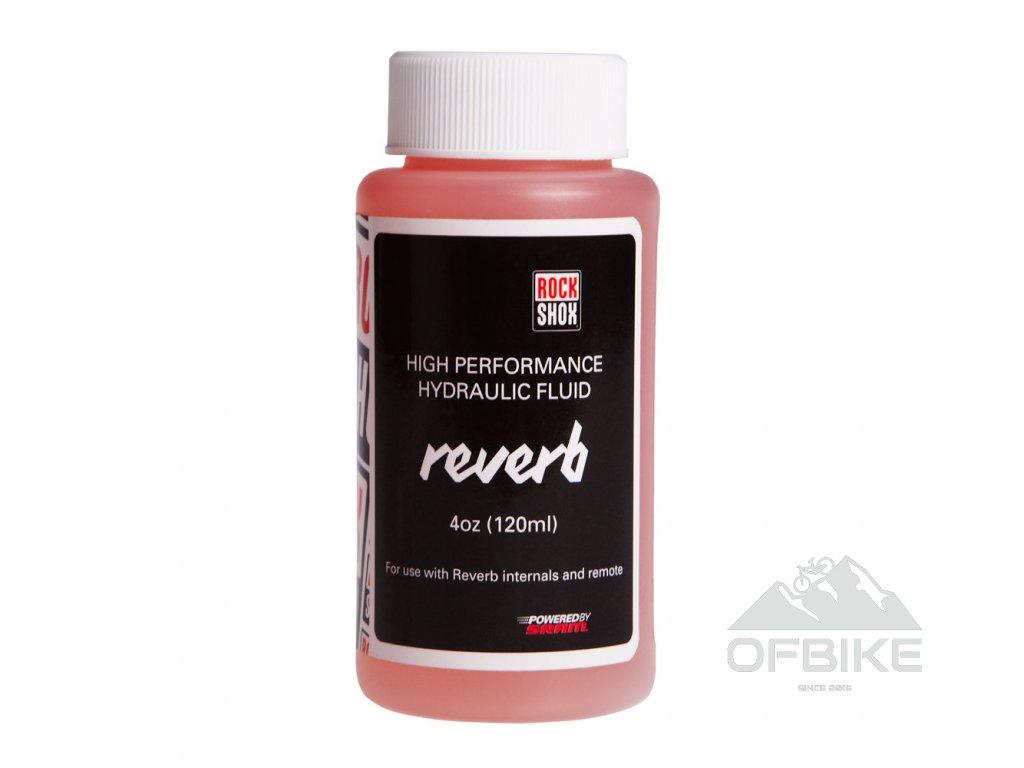 RockShox Reverb hydraulická kapalina, 120ml láhvička - Reverb/Sprint ovládací páčky