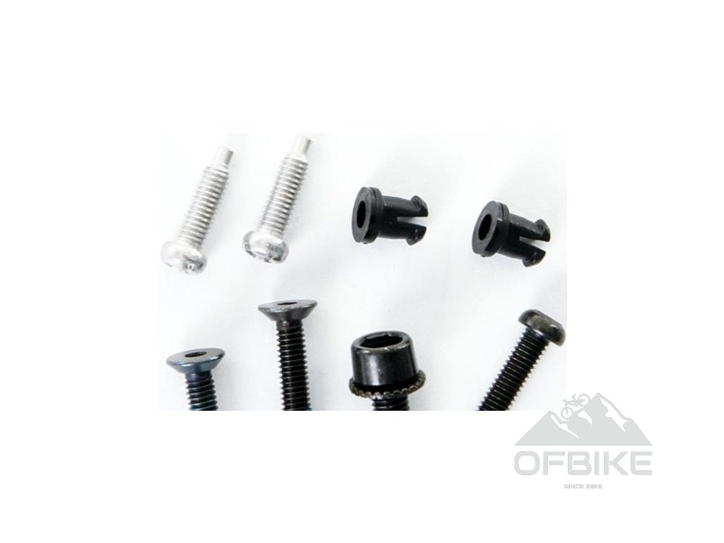 07-09 X9 Rear Derailleur Composite Cage Screw/Bolt Kit