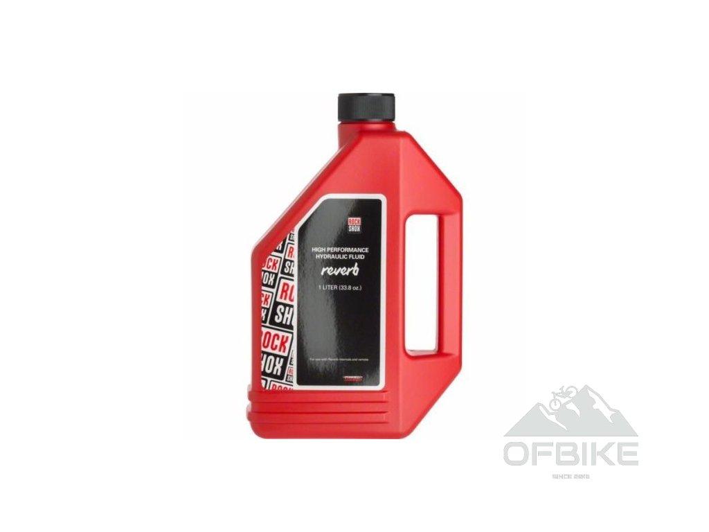 RockShox Reverb Hydraulic Fluid, 1 litr láhev - Reverb/Sprint ovládací páčky