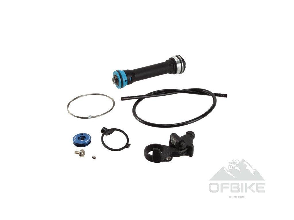 Upgrade kit zavírání vidlice - Turnkey 17mm - v balení Remote Compression Damper and PopLo