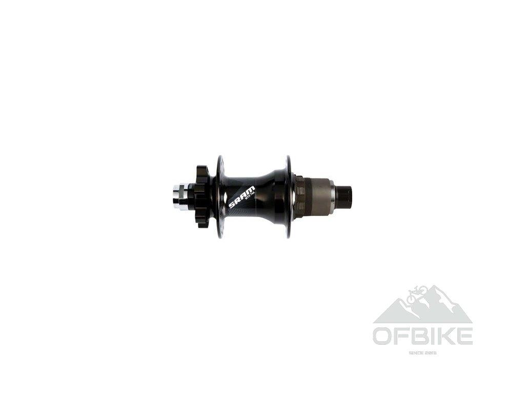 MTB náboj SRAM 746 zadní, 6 šroubů, diskový, 32děr, 12x142mm Through Axle, Black, XD ořech
