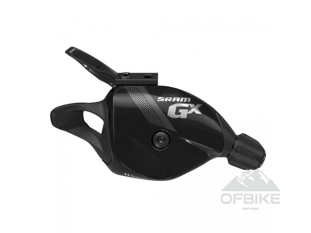 Řadící páčka SRAM GX, 11rychl., včetně samostatné objímky černé