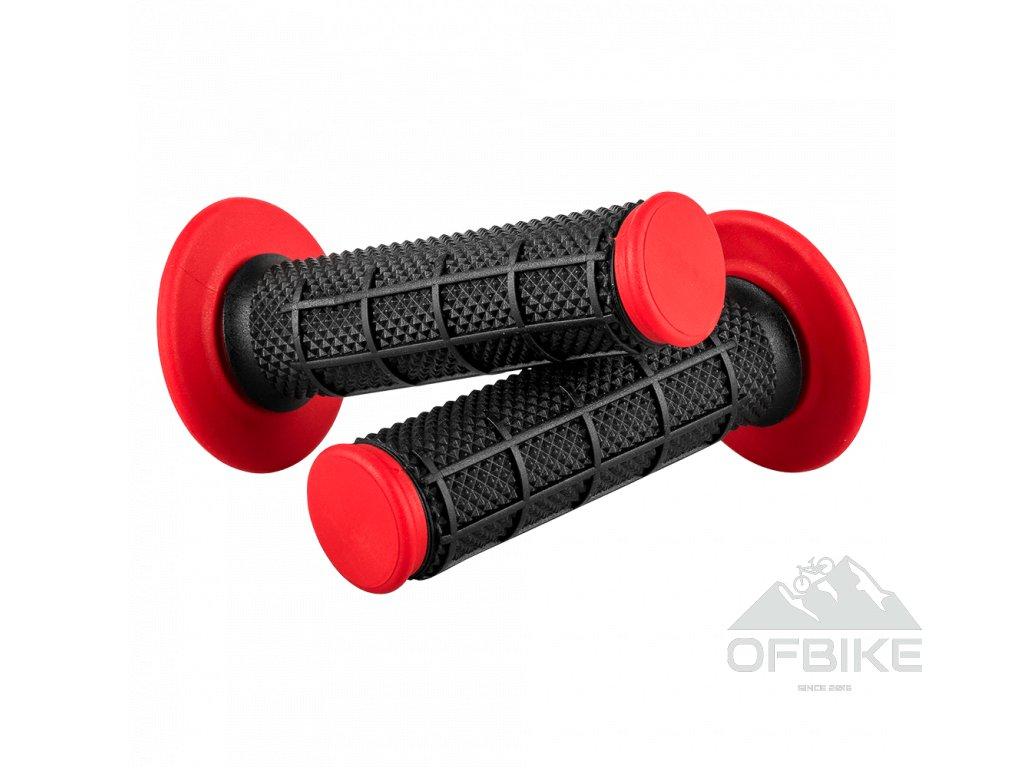 Gripy O´Neal DIAMOND DUAL COMPOUND černá/červená