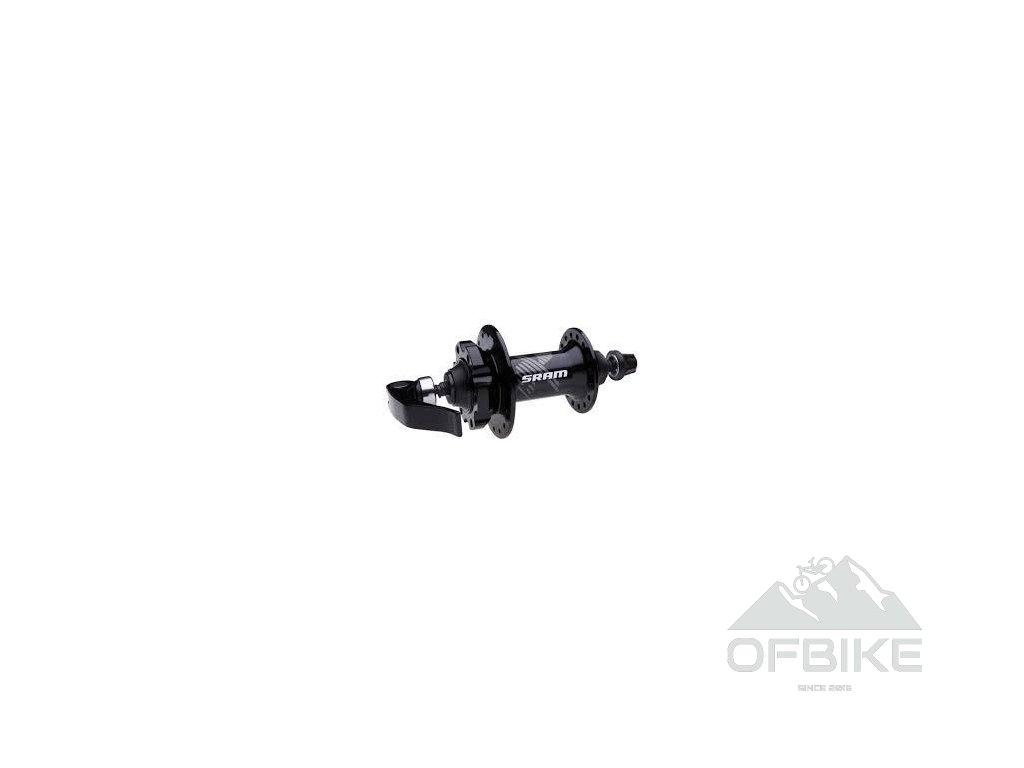 MTB náboj 406 , 6-šroub disková, přední 32děr 100 OLD 9mm QR v balení
