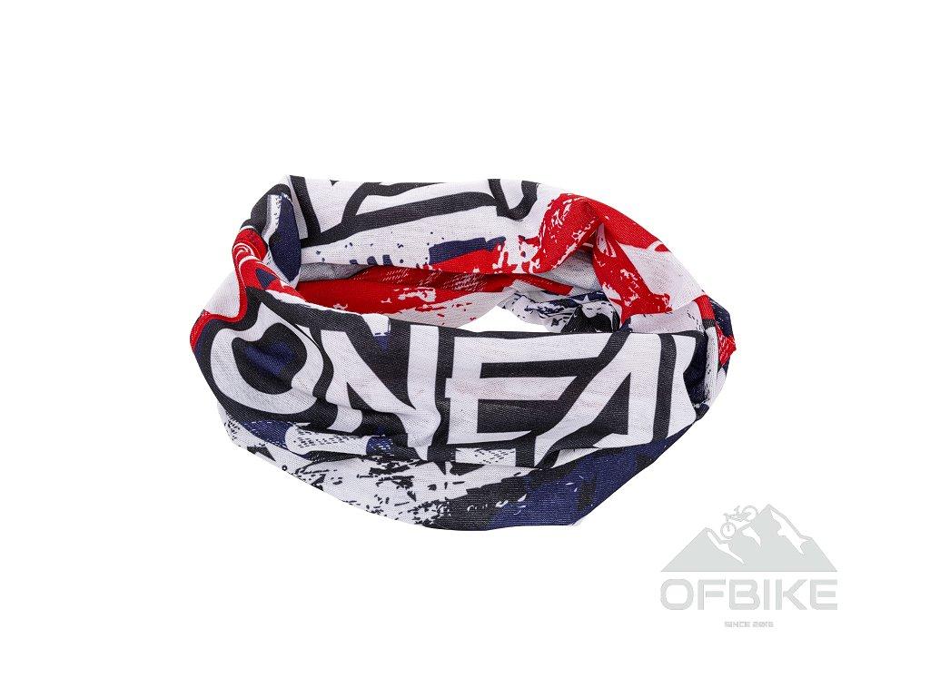 Nákrčník O´Neal USA bílá/modrá/červená