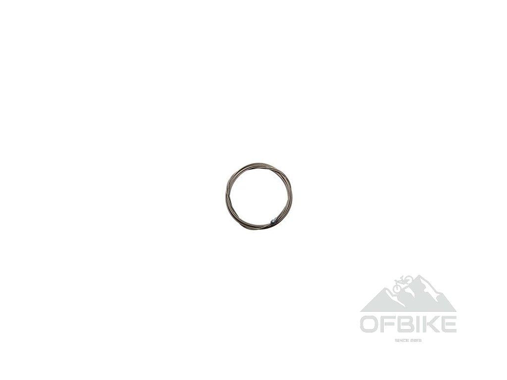 Ocelové silniční brzdové lanko, délka 2750mm pro časovku a tandem, 1ks