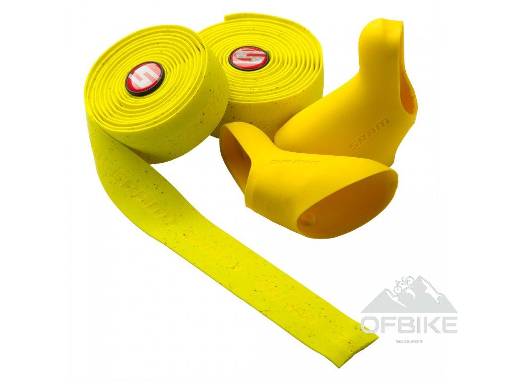 Žluté gumy a omotávka SuperCork