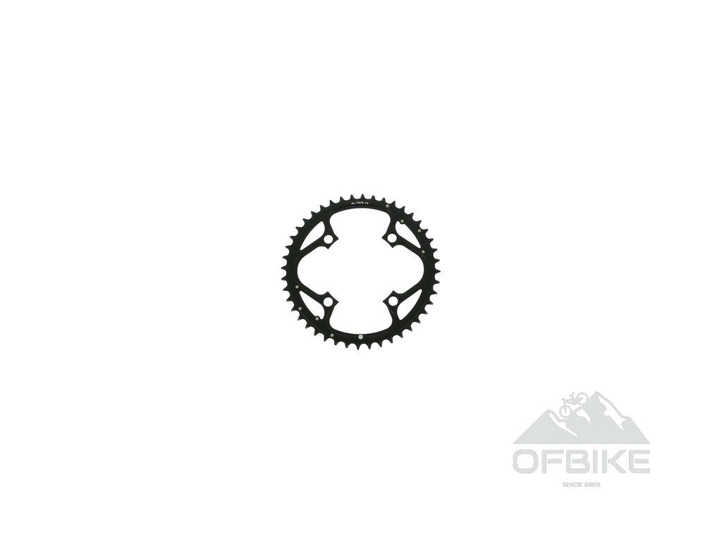 Chain Ring MTB 42T V4 104 Alum 3mm Blast Black