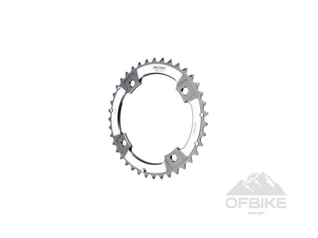 XX Chain Ring 39T S1 120 AL6 Tungsten Grey L-Pin GXP 10 speed