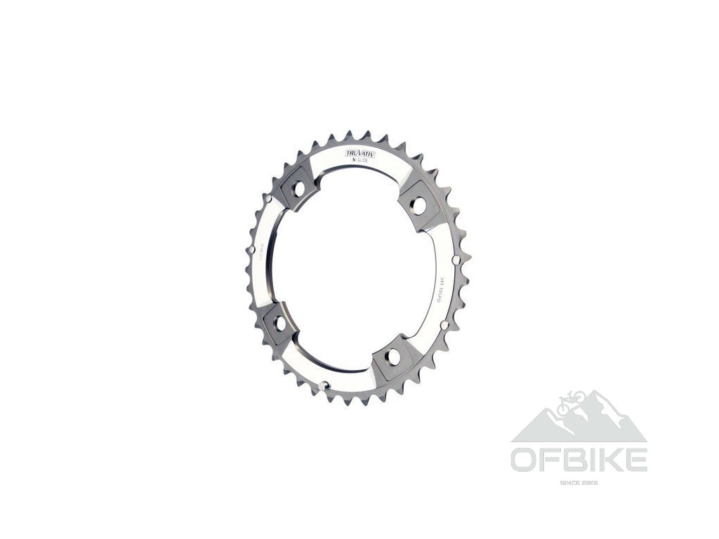 XX Chain Ring 39T S1 120 AL6 Tungsten Grey S-Pin BB30 10 speed