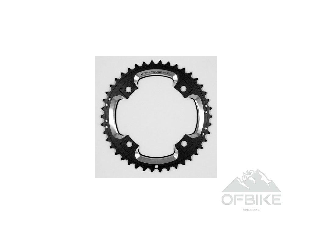 Chain Ring MTB 42T S2 120 AL6 Blast Black L-Pin GXP CNC 2x10