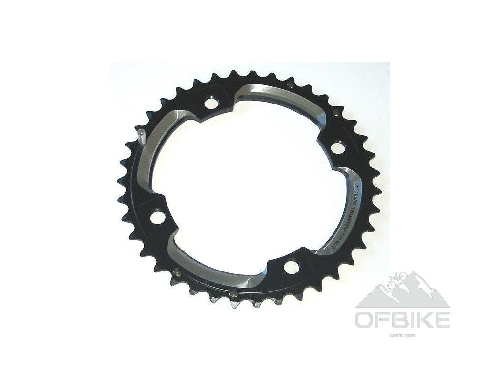 Chain Ring MTB 39T S2 120 AL6 Blast Black L-Pin GXP CNC 2x10