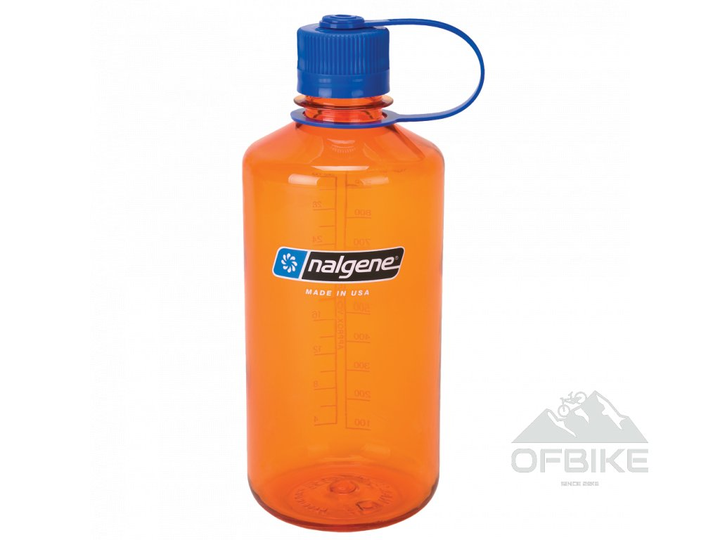 Láhev Nalgene Narrow Mouth 1000ml, lime