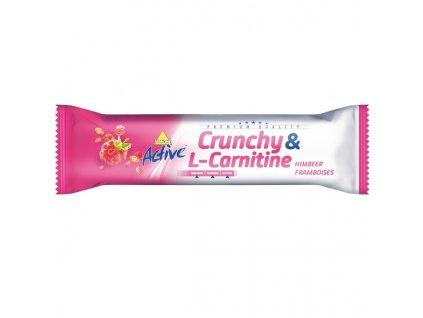 1913 active tycinka crunchy l carnitin malina 35 g