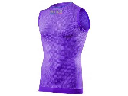 SIXS SML2 funkční odlehčené tričko bez rukávů fialová