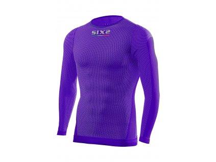 SIXS TS2L funkční odlehčené tričko s dlouhým rukávem fialová