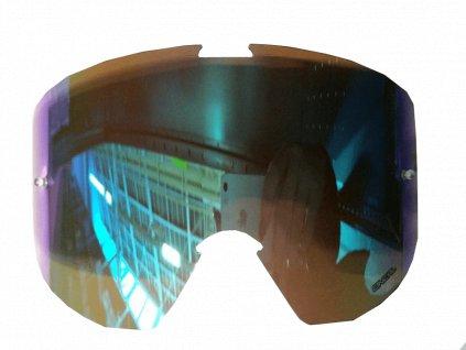 Náhradní sklo pro O´Neal B1 radium modrá
