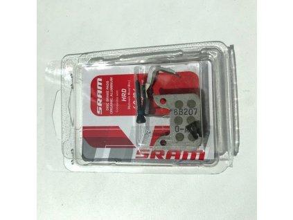 Brzdové destičky organika/hliník pro disk.brzdy SRAM a brzdy Level Ultimate a Level TLM
