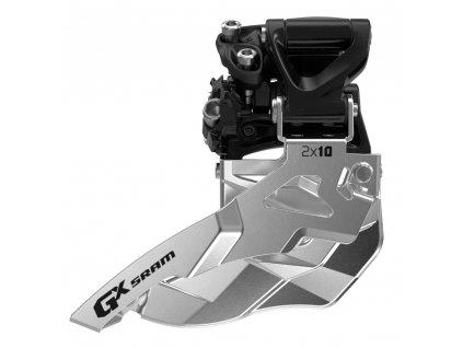 Přesmykač SRAM GX 2x10 horní objímka 34z, horní tah