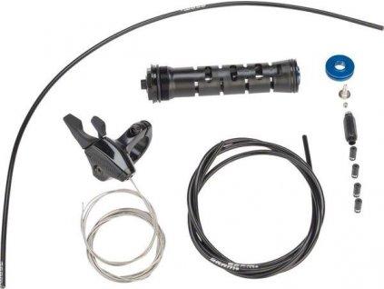 Upgrade kit zavírání vidlice - OneLoc vpravo/nahoře, vlevo/dole 10mm MCRL Damper Push to C