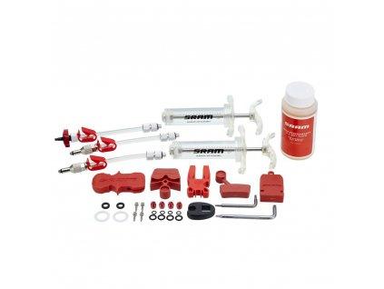 SRAM profesionální odvzdušňovací sada včetně kapaliny (v balení 2 stříkačky/fittings, blee