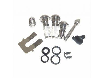 Caliper Hardware Kit (includes Ti body bolts, Ti banjo bolt,bleed screw, pad pin) S4 Calip
