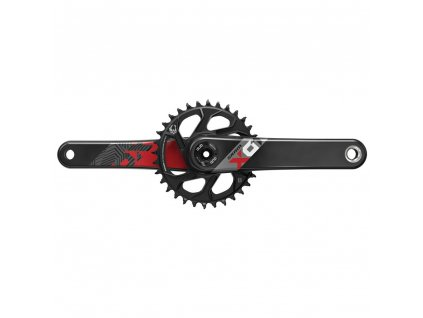 Kliky SRAM X01 Eagle Boost 148 DUB 12s 170 s Direct Mount 32z X-SYNC 2 převodník Red (osa
