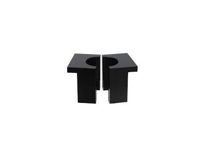 Rear Shock Body Vise blocks, RockShox Kage/Vivid