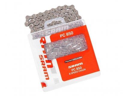 Řetěz SRAM PC 850 114 článků, PowerLink Silver 8rychl.